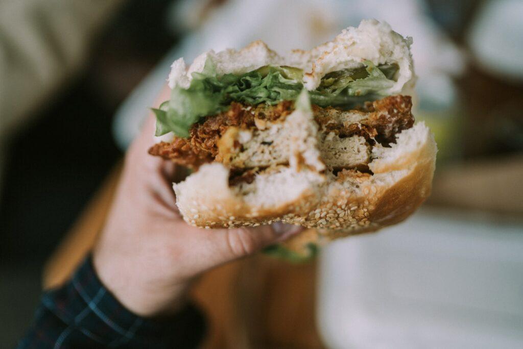 Produkty wege dla gastronomii - burger