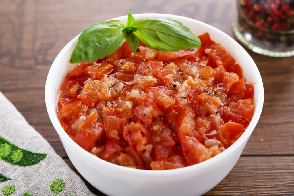 Concassé z pomidorów