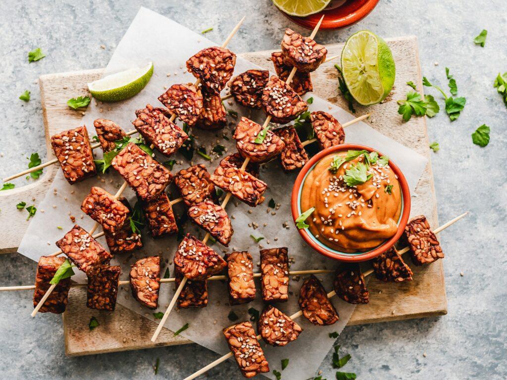 Gastronomia a koronawirus - szaszłyki wegetariańskie - blog Bidfood Farutex
