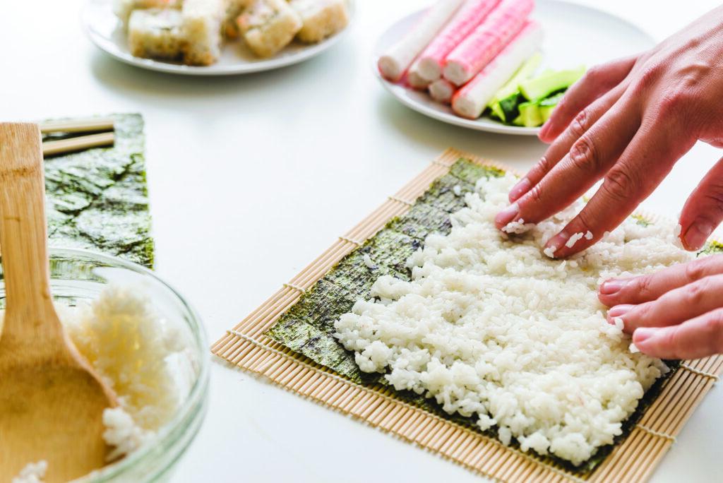 Ryż do sushi przygotowanie - blog Bidfood Farutex