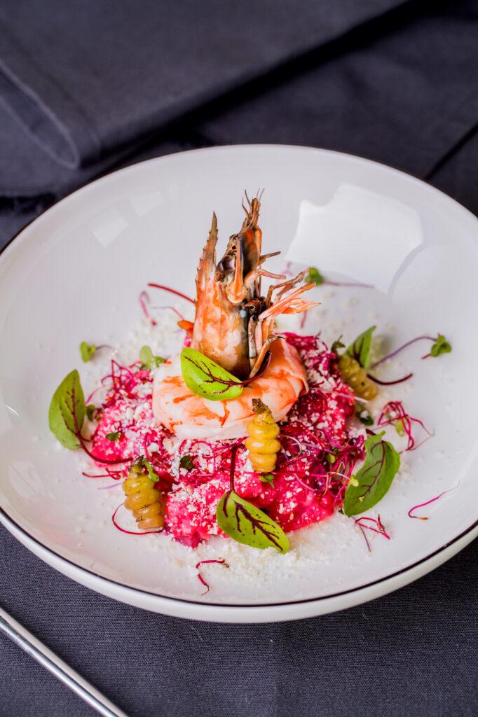 Ryż do risotto? Przygotuj risotto buraczkowe z krewetką - blog gastronomiczny Bidfood Farutex