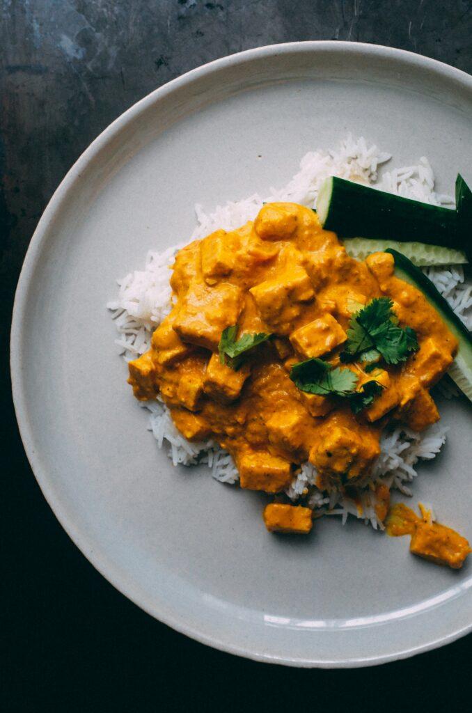 Curry z tofu - blog gastronomiczny Bidfood Farutex