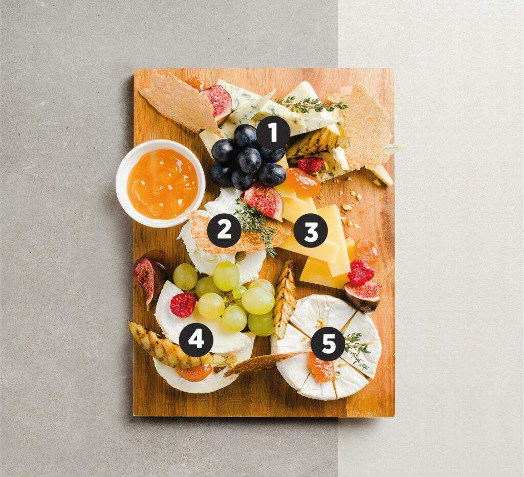 Deska serów francuska - przykład, jak przygotować deskę serów - blog gastronomiczny Bidfood Farutex
