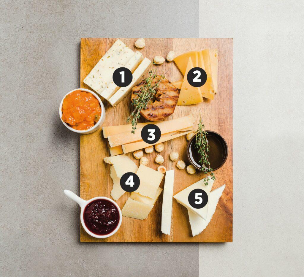 Deska serów polska - przykład, jak przygotować deskę serów - blog gastronomiczny Bidfood Farutex