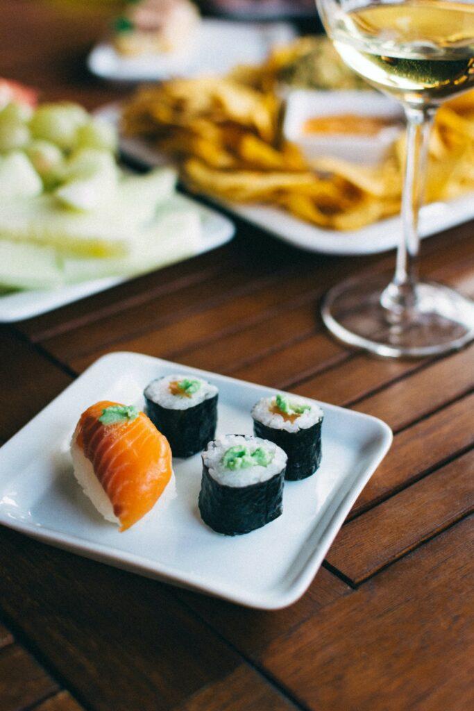Wino do sushi - blog gastronomiczny Bidfood Farutex