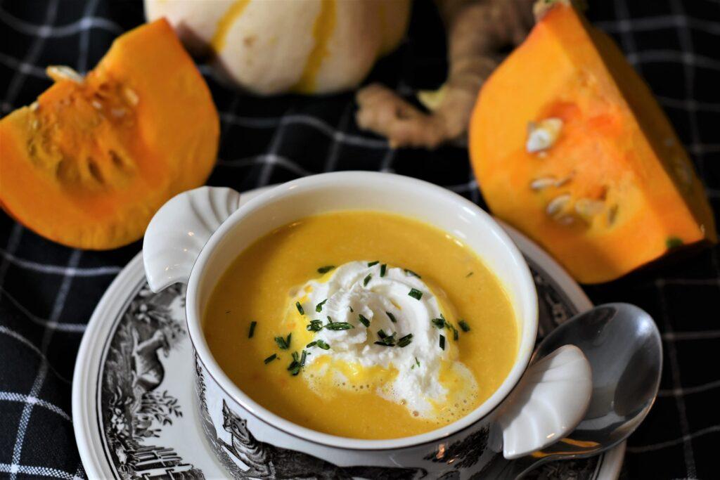 Zupa dyniowa wykorzystująca Mleczko kokosowe - blog gastronomiczny Bidfood Farutex