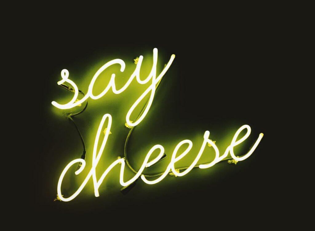"Neon ""say cheese""! - blog gastronomiczny Bidfood Farutex"